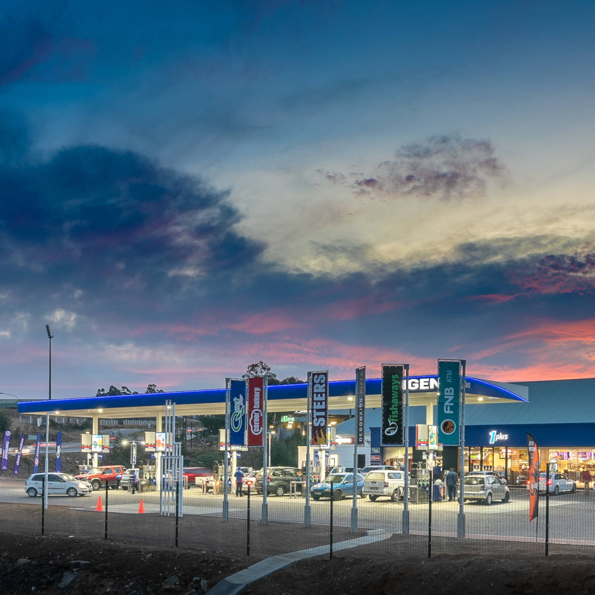 Engen Ikwezi Convenience Centre in Mthatha, South Africa
