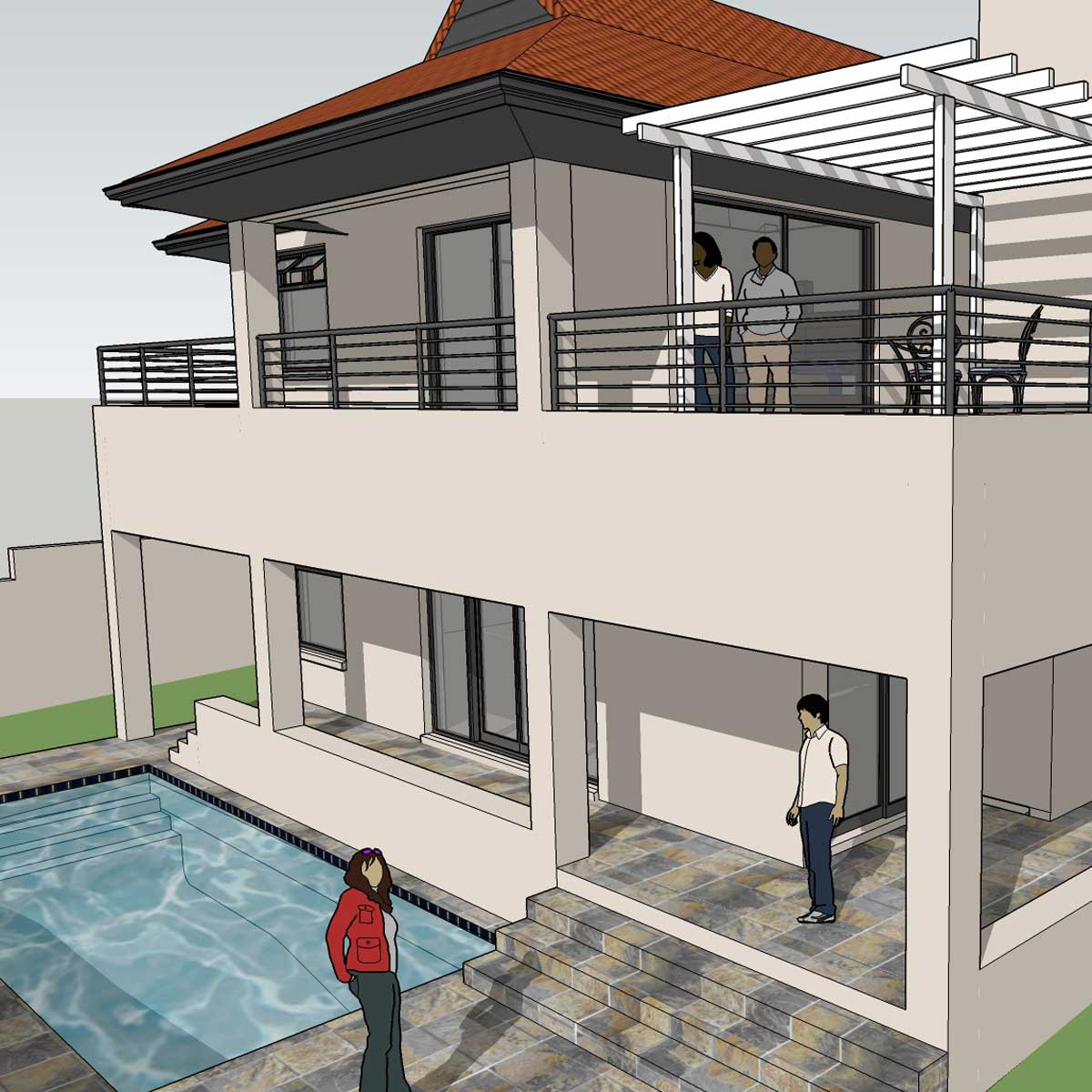 Aloe Architects House Mafika